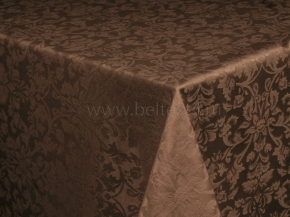 03С5-КВгл+ГОМ т.р. 1472 цвет 090902 темный шоколад, ширина 155 см