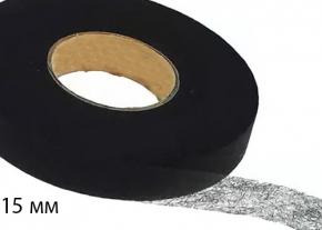 Паутинка клеевая 15мм, черный (рул.100ярд/91,44м). Цена указана за рулон