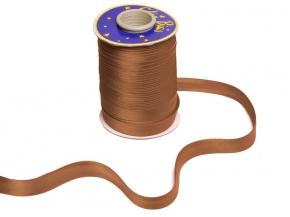 Косая бейка Ajur HY 152/1,5см (100м) коричневый