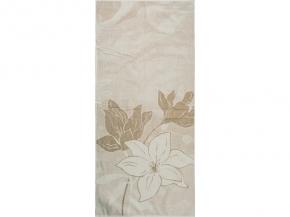 6с102.511ж2 67х150см Три цветка полотенце махровое Лен+х/б