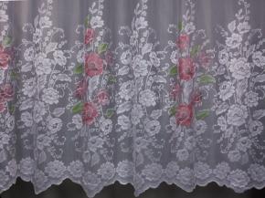 1.20м Тюль HX F 1080/120s белый с розовым