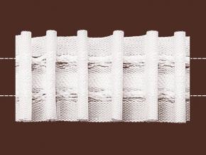 32мм. 09С3546ПЭ-Г50 ЛЕНТА ДЛЯ ШТОР белый 32мм, параллельная (рул.100м)