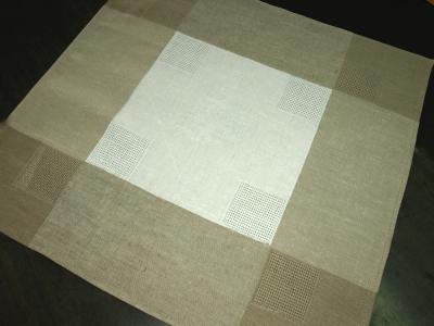 10с204-ШР 50*50 Салфетка  Ливень  цвет серый