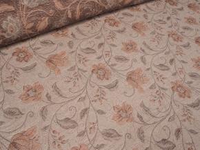 14С152-ШР+К 22/255 Ткань декоративная, ширина 150, лен-83% хлопок-17%