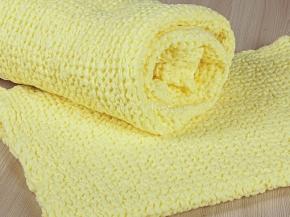 """20с179-ШР Комп-т полотенец из 2х штук """"Зефир"""" цв 730 желтый"""