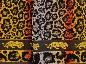 6с101.411ж1 Леопард Простыня махровая 208х150см