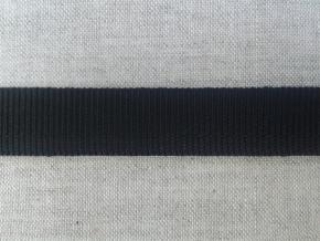 1С79-Г50 ЛЕНТА БРЮЧНАЯ черный 15мм (рул.25м)