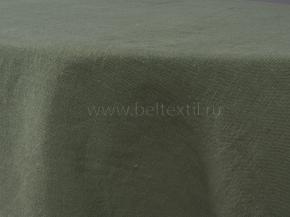 18С214-ШР/у Скатерть 100% лен 8 цв. оливковый 135*200