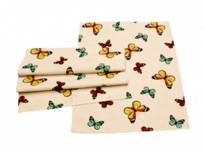 "Комплект полотенец 2-шт 47*61 ""Бабочки"""