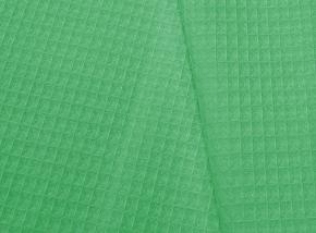 Полотенце вафельное банное 80*150 цвет зеленый