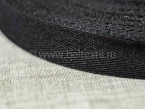 25мм. Лента киперная 25мм (4,5гр/м) черный (рул.100м)