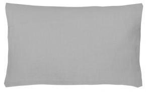 17с351-ШР Наволочка верхняя 70*70 серый