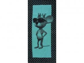 6с102.411ж1 Мышка-царь Полотенце махровое 67х150см