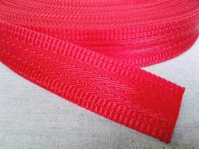 4С495-Г50 ЛЕНТА РЕМЕННАЯ красный*010, 35мм (рул.30м)
