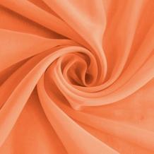 """Вуаль однотонная """"Шелли"""" SH 41/A/295 V оранжевый, ширина 295 см"""