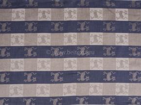 18с52-ШР/п.р. 49*70 Полотенце Кошки цв. синий