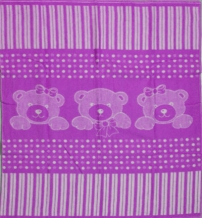 Одеяло п/шерсть в/уп. 50% 100*140 жаккард цвет сирень