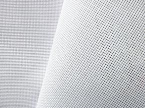 09С373/1 аппр. Ткань для вышивания (пл.183гр/м2), белый, ш.149см (Канва 14 каунт)