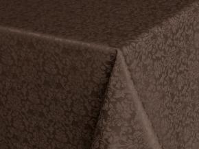 1809А-01 Скатерть Журавинка 1472/090202 шоколад 220*148 в индивидуальной упаковке