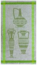 "10С193-ШР 50*90 полотенце ""Керамика-3"" зеленый"