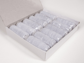 Спандекс (нить-резинка) кат.10гр/25м, белый (уп.12шт)