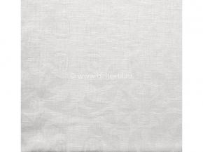 """ОБР01956ЯК  Комплект салфеток из 6 шт 45*45  """"Зимние каникулы"""" цв. белый"""