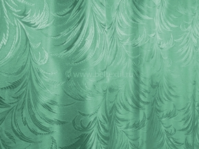 Жаккард T ZG L249-28/155 бирюзово-зеленый, ширина 155см
