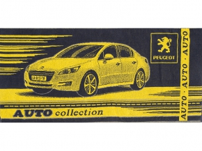 6с103.415ж1 Peugeot Полотенце махровое 104х50см