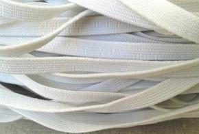 Резинка ткацкая 12мм, белая (рул.100м)