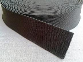 Резинка ткацкая 35мм, хаки (рул.20м)
