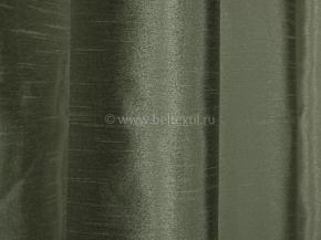 Тафта портьерная T EL FSilk-19/300 PTaf оливковый, ширина 300см