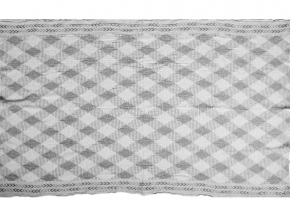 """18с230-ШР/у 100*160 Полотенце """"Аргайл"""" цв.106 серый"""