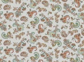 Рогожка арт. 902 МАПС рис. 30128/3 Пэйсли, ширина 150 см