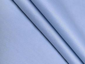 00С9-КВгл +Л Тик гладкокрашеный цв. 270504 голубой, ширина 150см