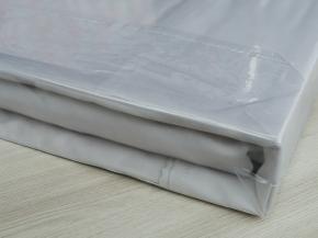 "4252-БЧ комплект евро сатин ""Гладь"" рис. 14-4203 серый"