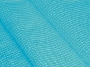 Ткань х/б вафельное полотно гл/кр 4Р-06-3 170 г/м2 цвет Бирюза, ширина 150см