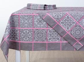 16с412-ШР/уп 150*250  Комплект столовый Изразцы цв 1 роз