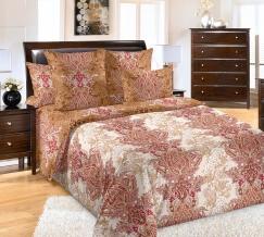 3250П КПБ 2 спальный с евро-простынью Шарлиз красный