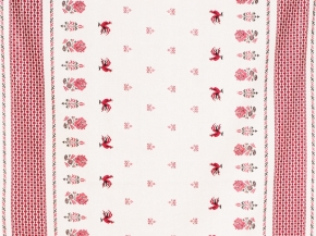 Ткань бельевая арт 06С-68ЯК (805014) п/л отб. набивной рис 1367/1 Петухи, ширина 150см