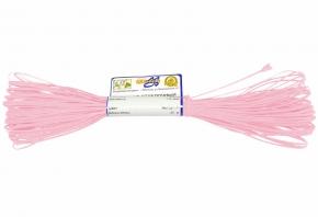 1С13-Г50 ШНУР ОТДЕЛОЧНЫЙ (сутаж) св.розовый*107, d-1.8мм (рул.20м)