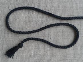 1С35-Г50 ШНУР черный 4мм (рул. 200м)