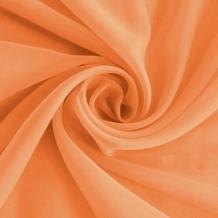 """Вуаль однотонная """"Шелли"""" с утяжелителем RS 2061/300 V ut апельсин, ширина 300 см"""