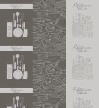 Вафельное полотно В16 рис.11364/1 Кухня Loft, 150см