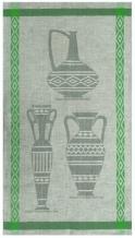"10С193-ШР 50*90 полотенце ""Керамика-1"" зеленый"