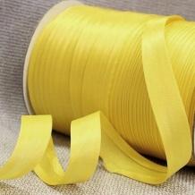 Косая бейка Ajur HY 011/1,5см (100м) св.желтый