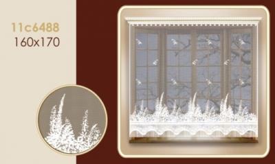 11С6488-Г50 ЗАНАВЕСКА белый 1.70*1.60м