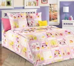 1100 КПБ 1.5 спальный Дорис розовый