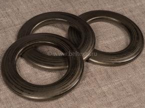 Люверсы AL 25Ф, коричневый d-35мм (уп.10шт)
