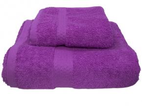 Полотенце махровое Amore Mio GX Classic 33*70 цвет фиолетовый