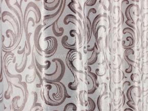 Портьера блэкаут T RS 2786-01/280 BL Jak  бледно-розовый на жемчужном, ширина 280см